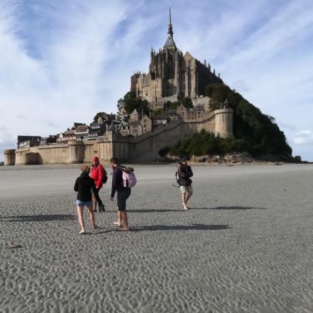 Traversée 03/08/21 Mt St Michel acompte