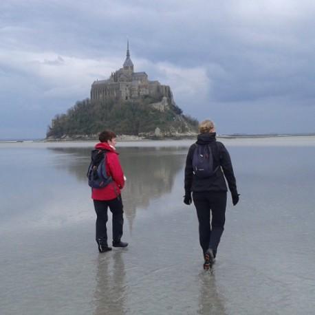 Traversée 02/01/20 Mt St Michel acompte
