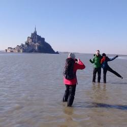 Traversée 25/01/20 Mt St Michel acompte
